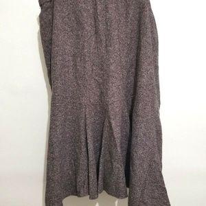 Jones New York 24W Wool Swing Skirt